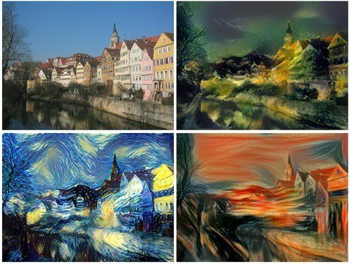Artistic Style Transfer